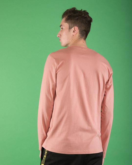 Shop Misty Pink Full Sleeve T-Shirt