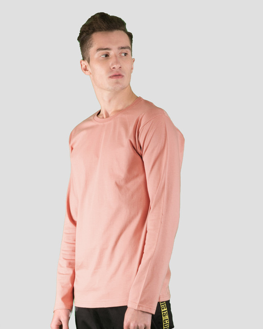 Shop Misty Pink Full Sleeve T-Shirt-Back