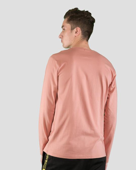 Shop Misty Pink Full Sleeve T-Shirt-Design
