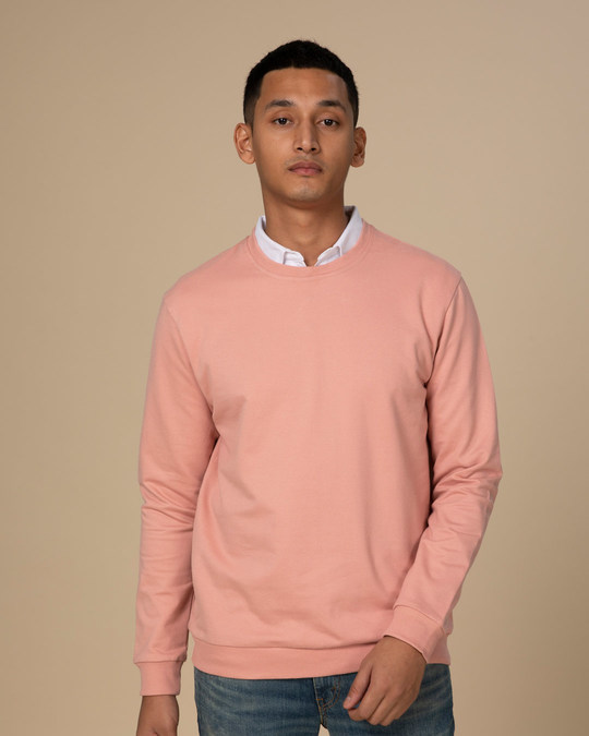 Shop Misty Pink Light Sweatshirt-Back