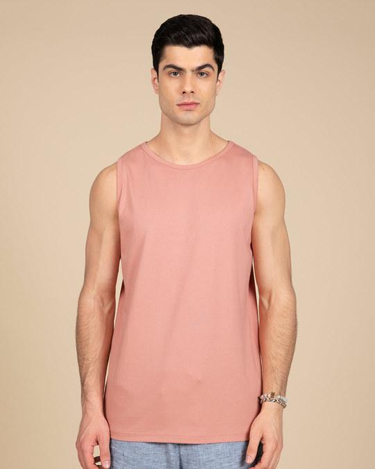 Shop Misty Pink Vest-Front