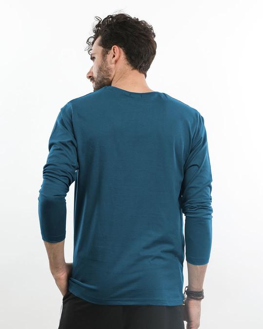 Shop Misty Skull Full Sleeve T-Shirt-Full