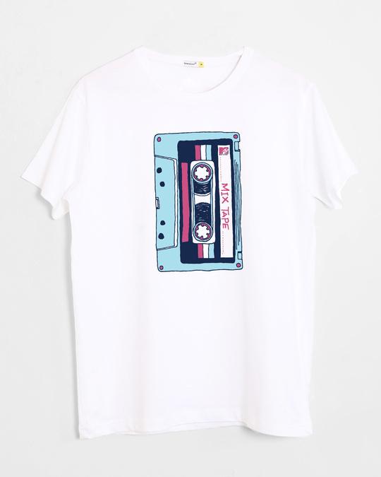 Shop Mix Tape Mtv Half Sleeve T-Shirt (MTL)-Front