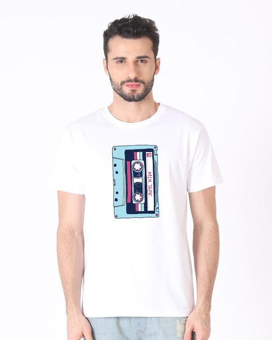 Shop Mix Tape Mtv Half Sleeve T-Shirt (MTL)-Back