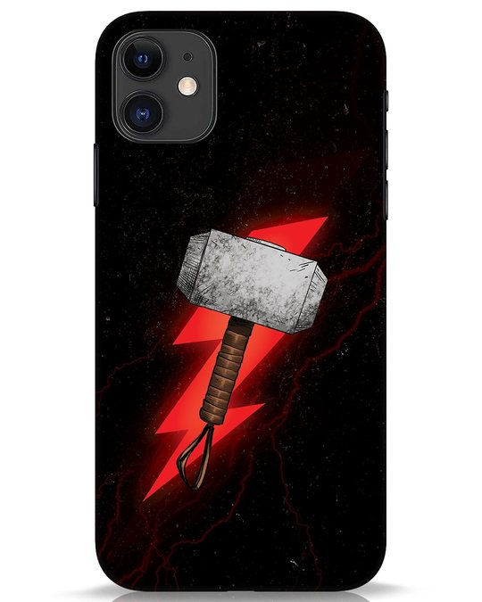 Shop Mjolnir iPhone 11 Mobile Cover-Front