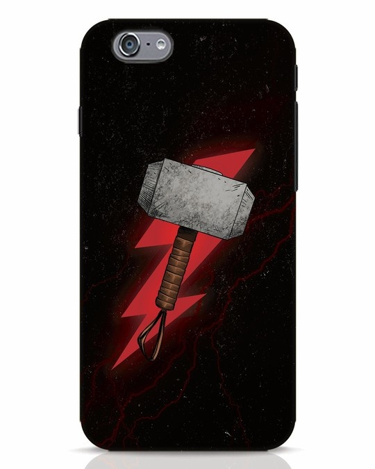 Shop Mjolnir iPhone 6 Mobile Cover-Front