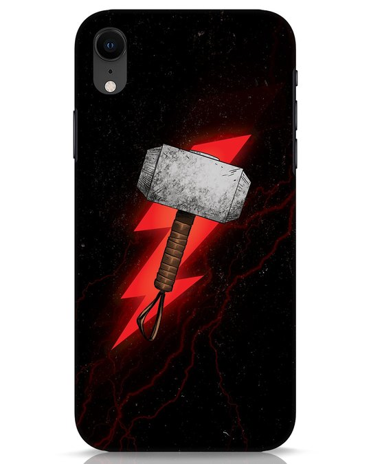 Shop Mjolnir iPhone XR Mobile Cover-Front