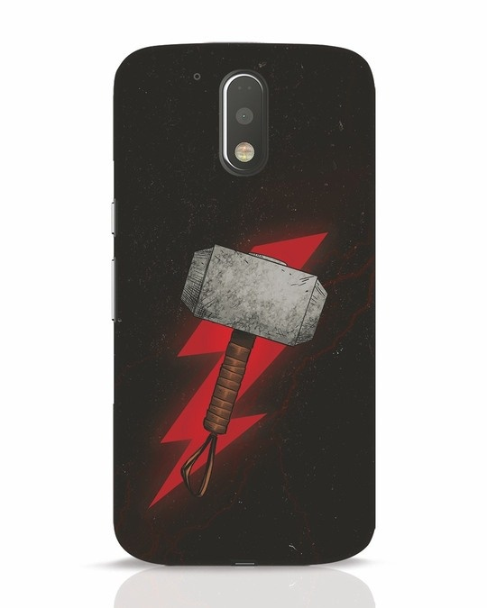 Shop Mjolnir Moto G4 Plus Mobile Cover-Front