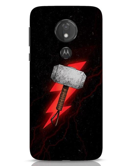 Shop Mjolnir Moto G7 Power Mobile Cover-Front