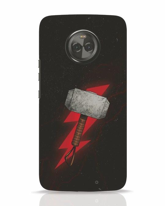 Shop Mjolnir Moto X4 Mobile Cover-Front