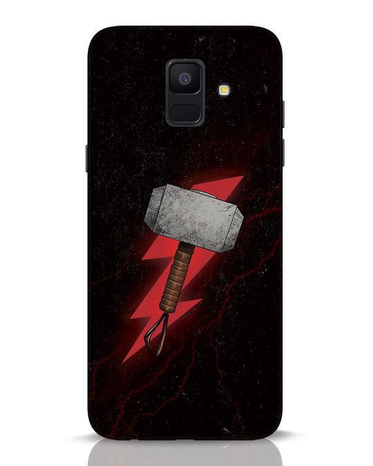 Shop Mjolnir Samsung Galaxy A6 2018 Mobile Cover-Front