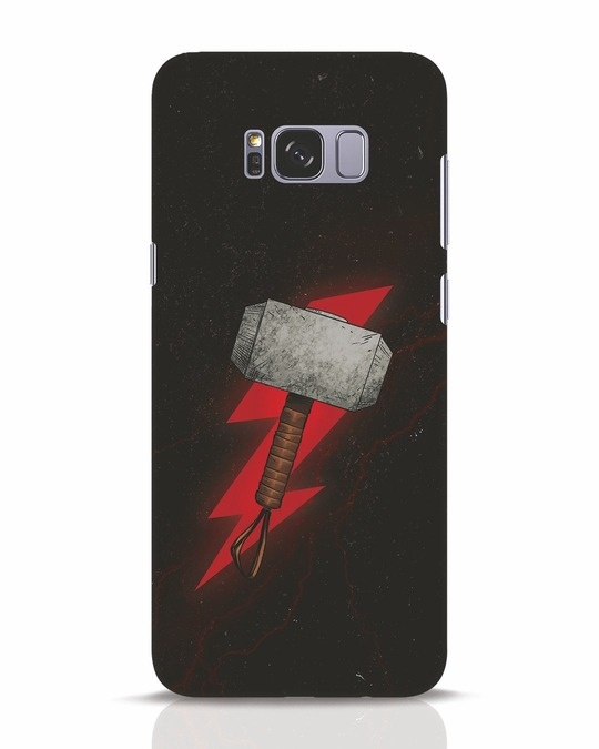 Shop Mjolnir Samsung Galaxy S8 Plus Mobile Cover-Front