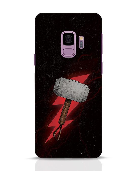 Shop Mjolnir Samsung Galaxy S9 Mobile Cover-Front