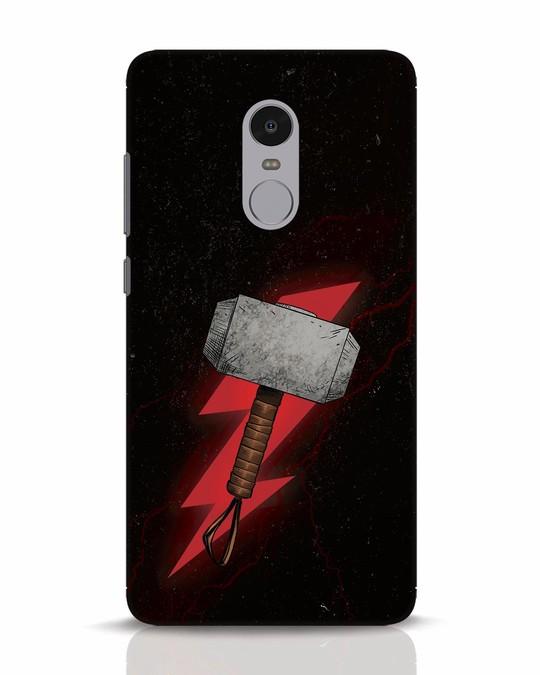 Shop Mjolnir Xiaomi Redmi Note 4 Mobile Cover-Front
