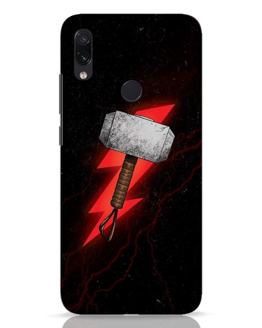 Shop Mjolnir Xiaomi Redmi Note 7 Mobile Cover-Front