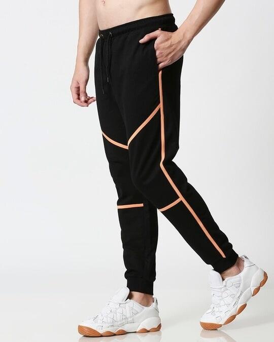 Shop Orange Rush Color Block Jogger-Full