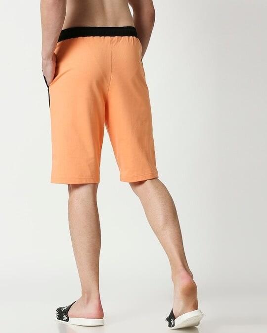 Shop Orange Rush Side Panel Shorts-Full