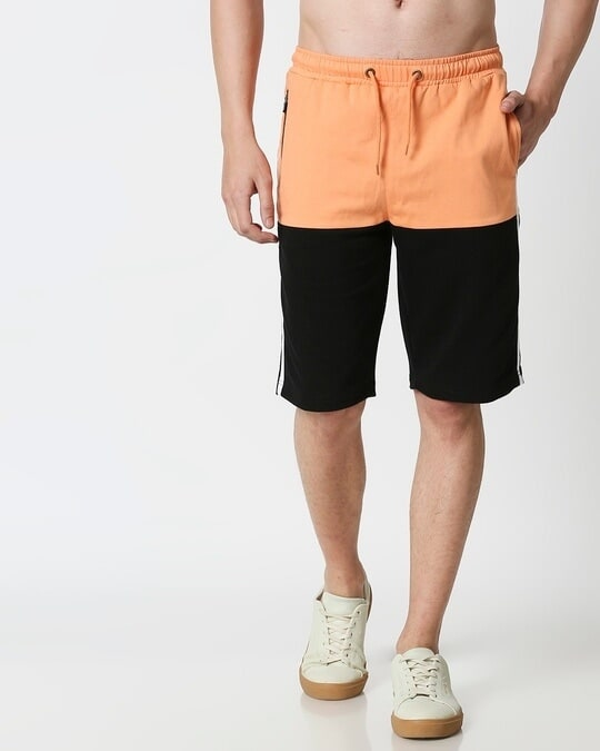 Shop Orange Rush Two Panel Shorts-Design