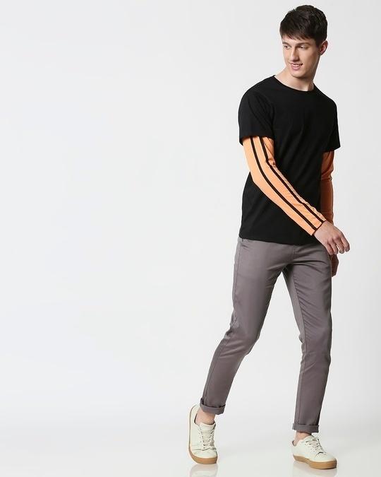Shop Orange Rush Doctor Sleeves T-Shirt
