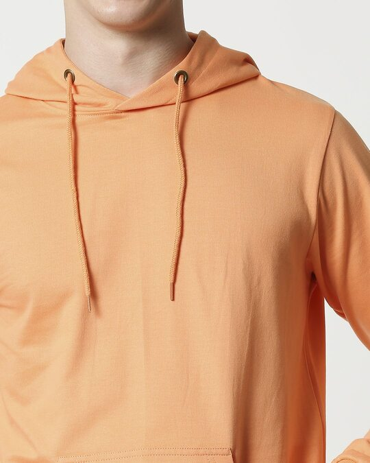 Shop Orange Rush Fleece Hoodie