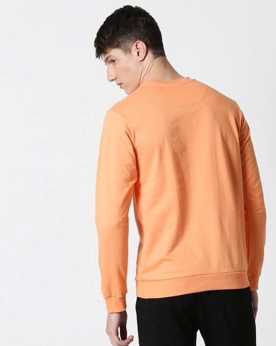 Shop Orange Rush Fleece Sweater