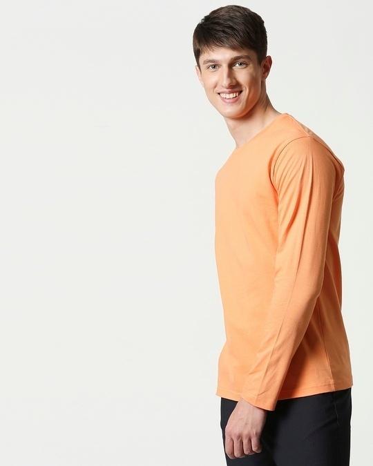 Shop Orange Rush Full Sleeves T-Shirt-Full