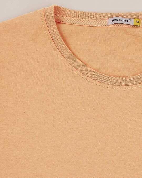 Shop Orange Rush Half Sleeves T-Shirt