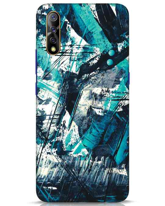 Shop Modern Abstract Poster Vivo S1 Mobile Cover-Front