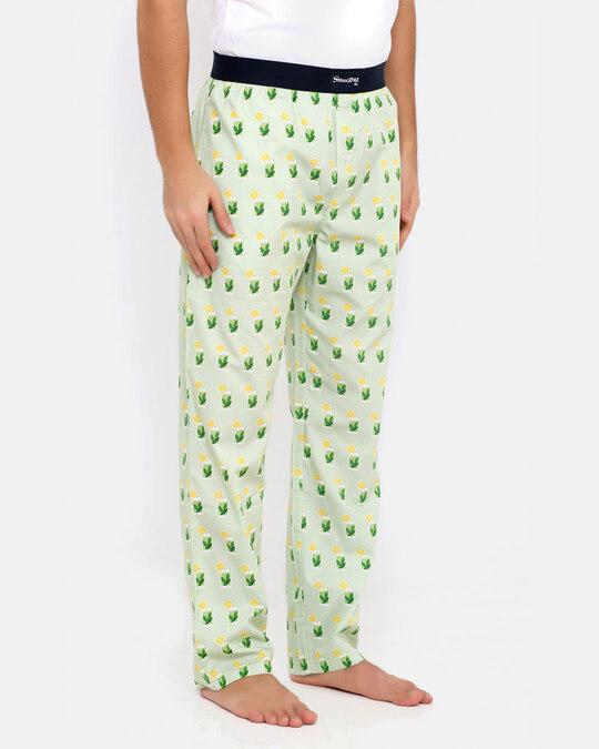 Shop Mojito Pyjamas Green-Back