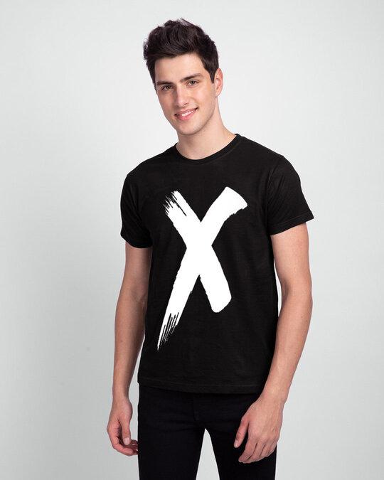 Shop Cross Half Sleeve T Shirt-Front