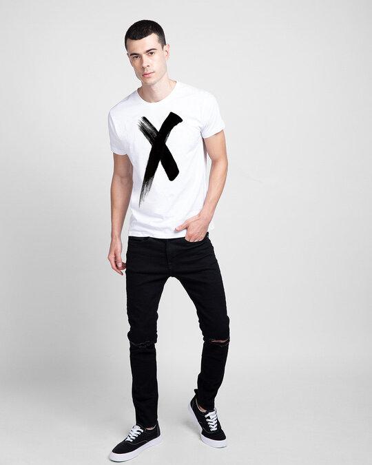 Shop Cross Half Sleeve T Shirt