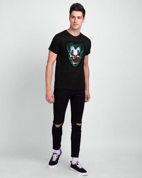 Shop Joker Half Sleeve T Shirt-Back