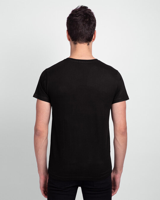 Shop Question Mark Skull Half Sleeve T Shirt-Design