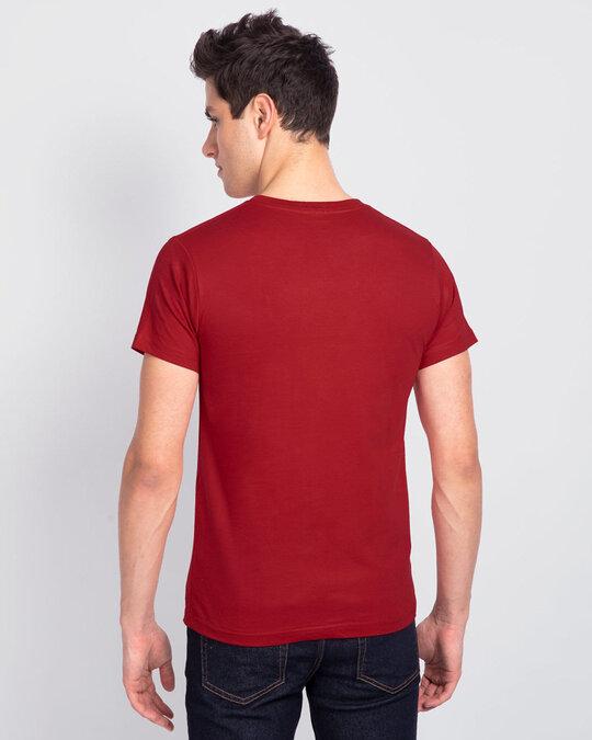 Shop Teri Yaari Sabse Pyari Men Friends Theme T Shirt-Back