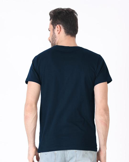 Shop Monday Blues Half Sleeve T-Shirt-Full