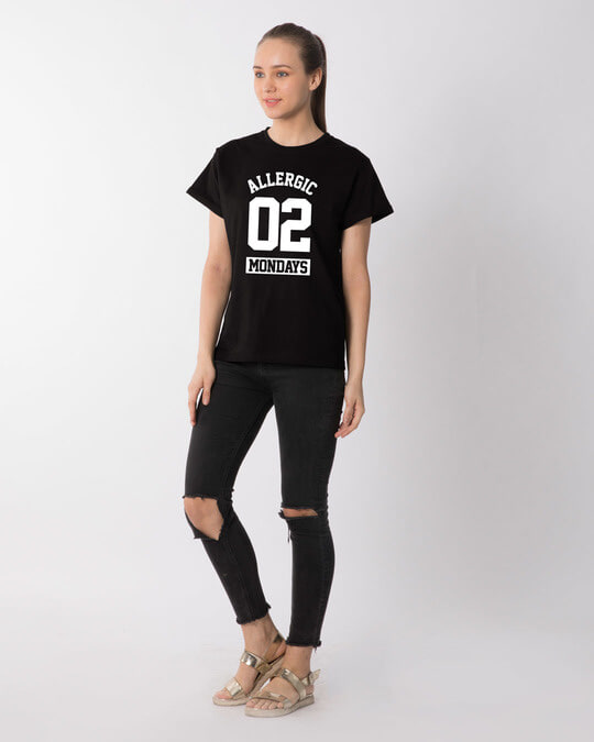 Shop Monday Fever Boyfriend T-Shirt