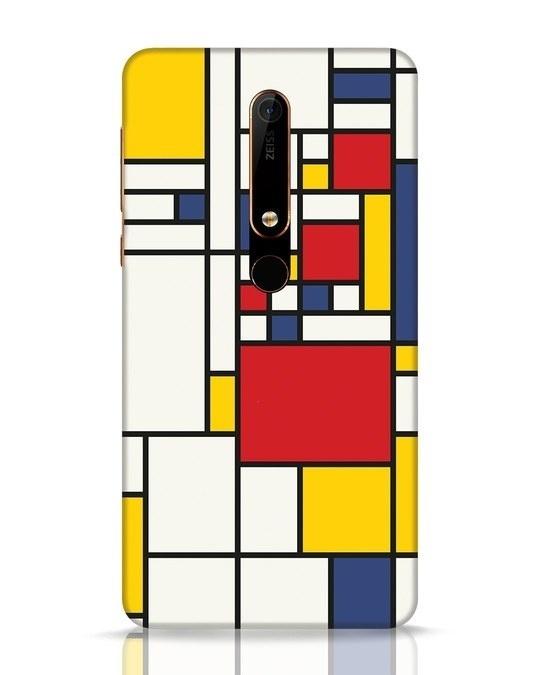 Shop Mondrian Nokia 6.1 Mobile Cover-Front