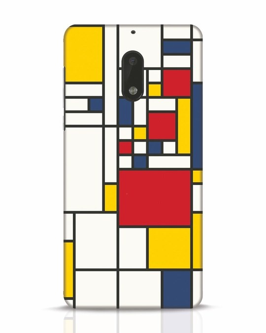 Shop Mondrian Nokia 6 Mobile Cover-Front