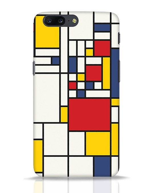 Shop Mondrian OnePlus 5 Mobile Cover-Front