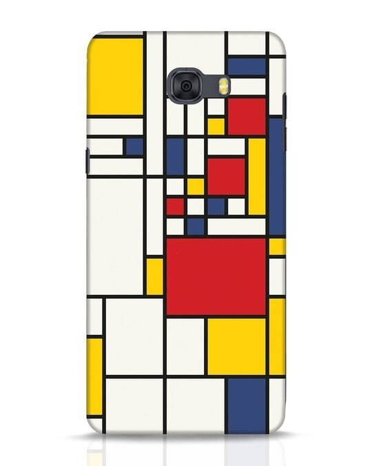Shop Mondrian Samsung Galaxy C9 Pro Mobile Cover-Front