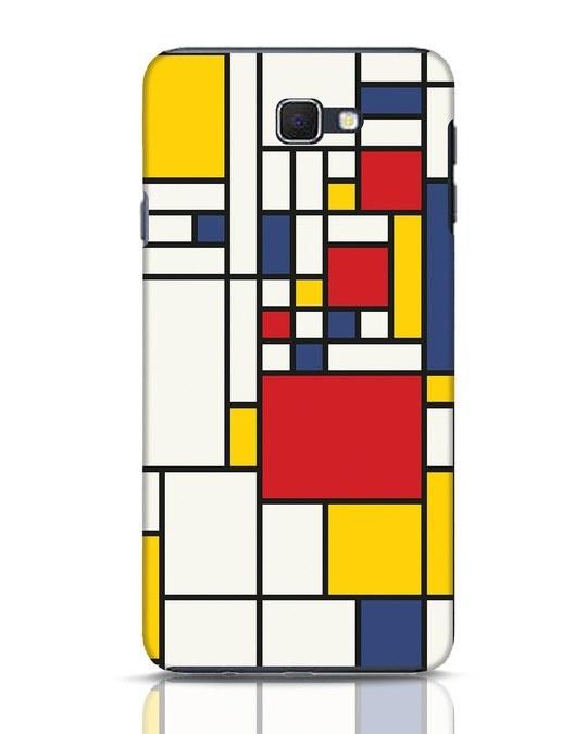 Shop Mondrian Samsung Galaxy J7 Prime Mobile Cover-Front