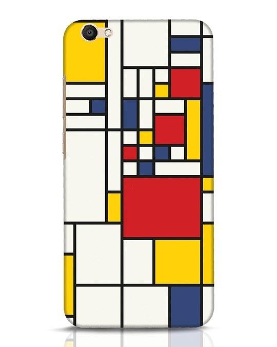 Shop Mondrian Vivo V5 Mobile Cover-Front