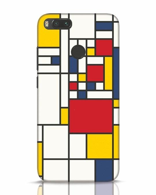 Shop Mondrian Xiaomi Mi A1 Mobile Cover-Front