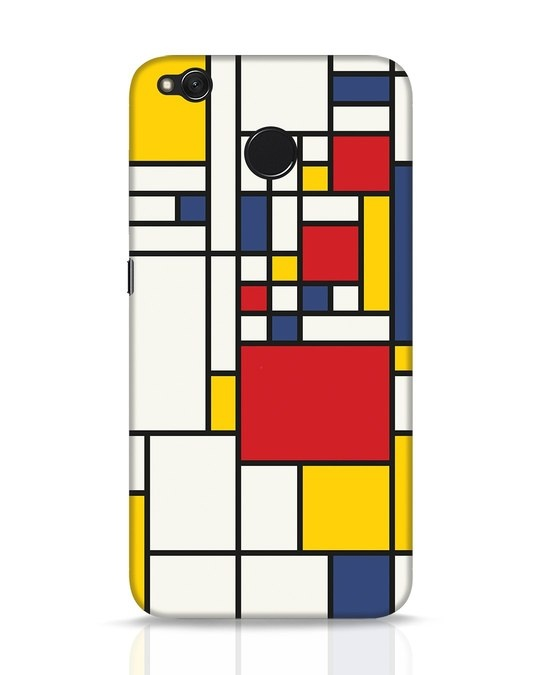 Shop Mondrian Xiaomi Redmi 4 Mobile Cover-Front