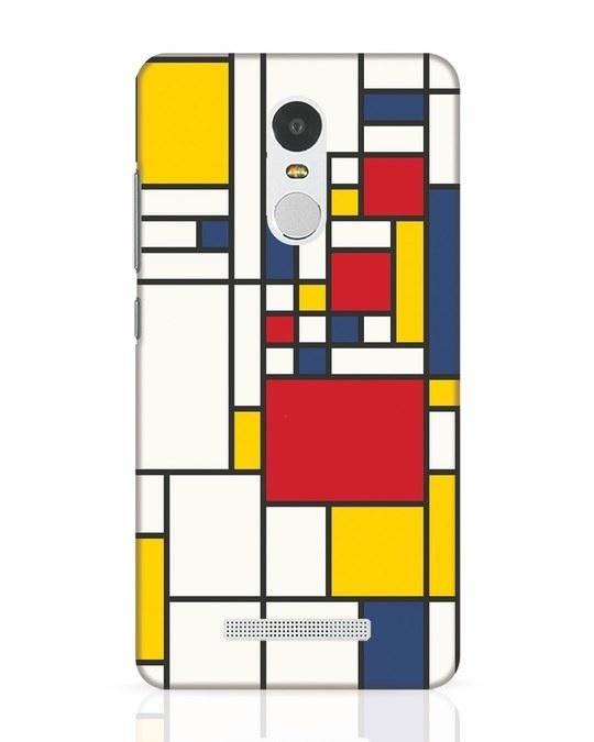 Shop Mondrian Xiaomi Redmi Note 3 Mobile Cover-Front