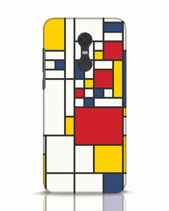 Shop Mondrian Xiaomi Redmi Note 5 Mobile Cover-Front