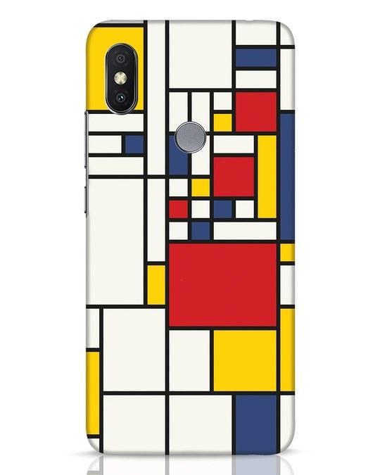 Shop Mondrian Xiaomi Redmi Y2 Mobile Cover-Front