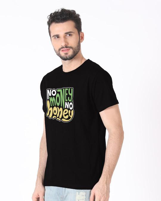 Shop Money Honey Half Sleeve T-Shirt-Full