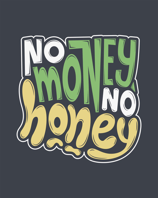 Shop Money Honey Round Neck 3/4th Sleeve T-Shirt