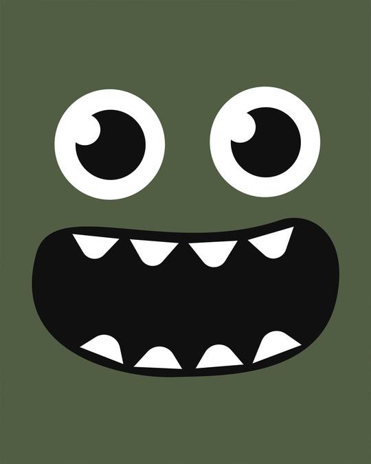 Shop Monster Smiley Boyfriend T-Shirt